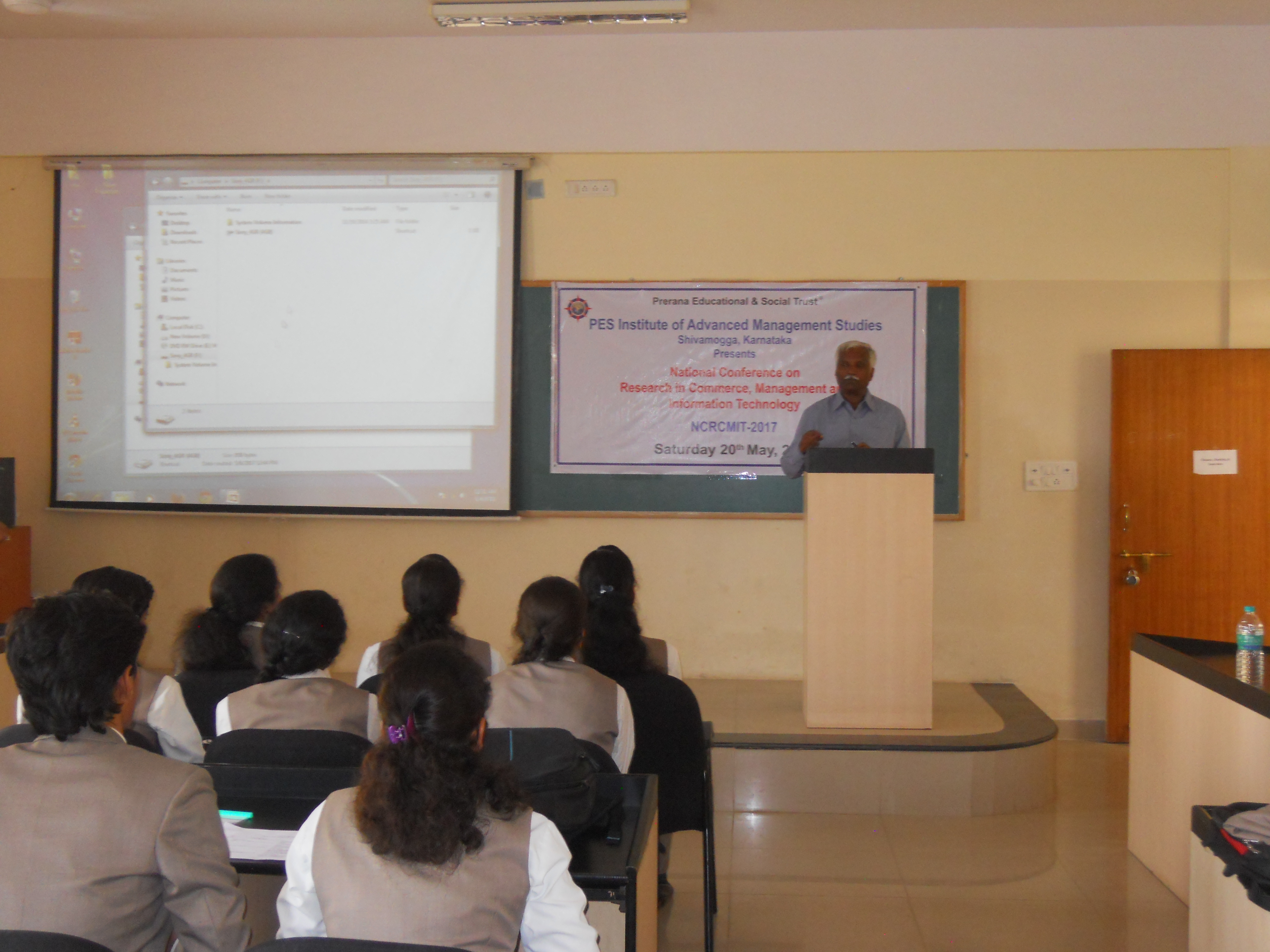 Technology Management Image: A One Day National Conference On Research In Commerce