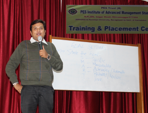 A Guest Talk on 'Goal Setting and Positive Psychology'