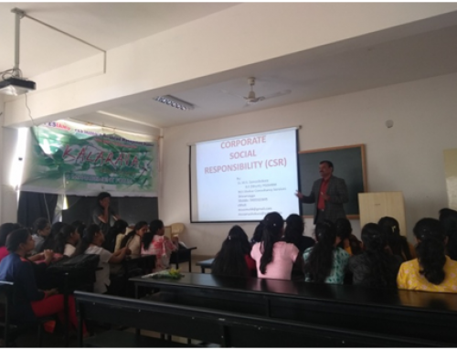 """Guest talk on """"Corporate Social Responsibility"""""""