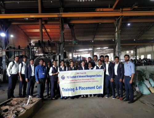 Industrial visit to Bhumika Alloy Castings Pvt Ltd