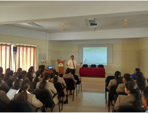 Guest Talk on Career Opportunities for Commerce Graduates and Essential Skill