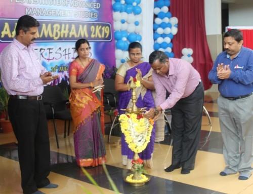 Inauguration of forum (Aarambham 2K-19)