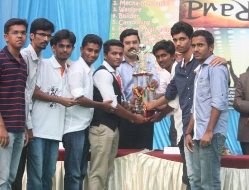 Chakravyuha Technical Champions (Alva's College fest)