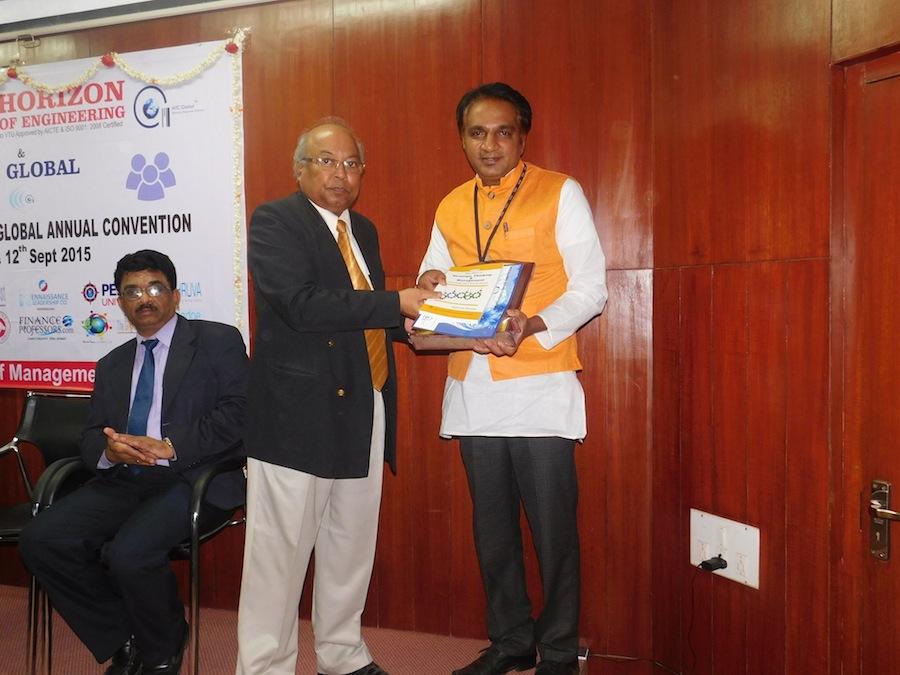 Global Award for Academic Excellence – Arvind Mallik