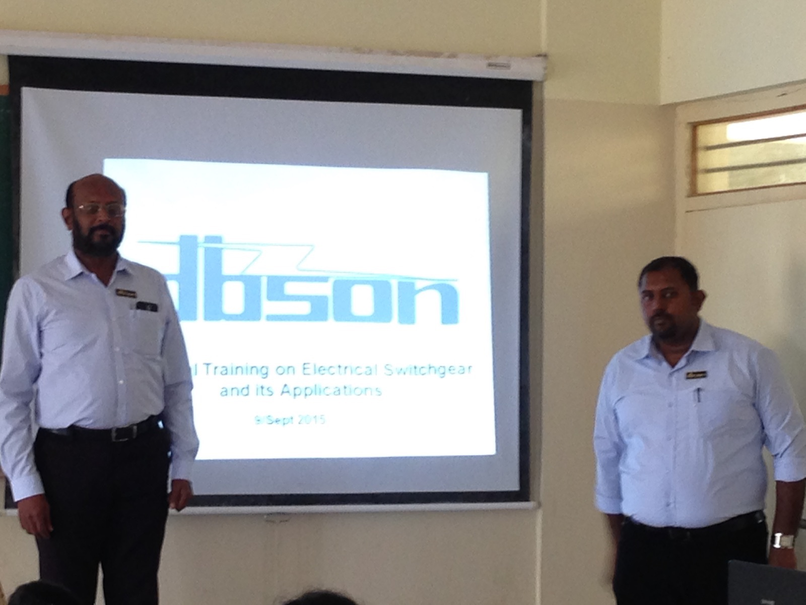 Practical training on Electrical Switch gear and its Applications