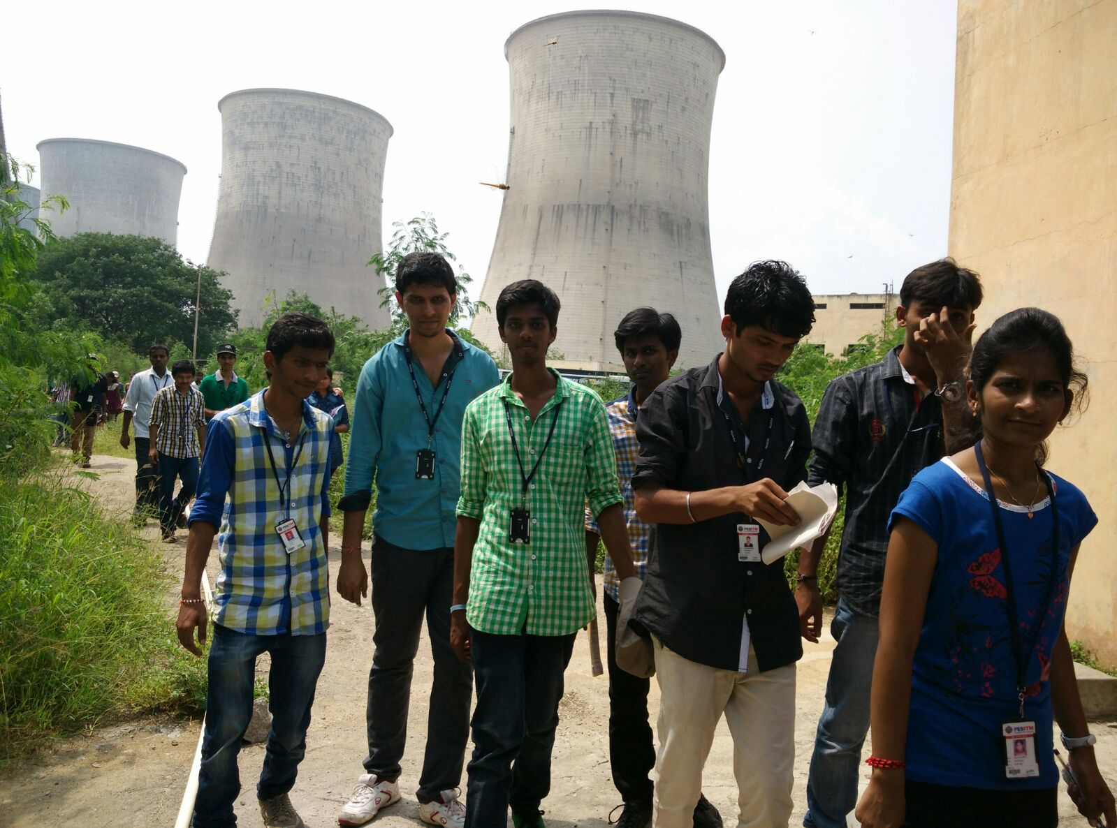 Industrial visit to Varahi Hydro Power Plant