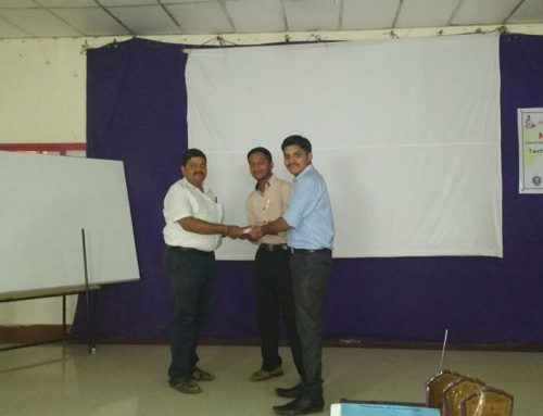 Secured 2nd Prize at Paper Presentation Event