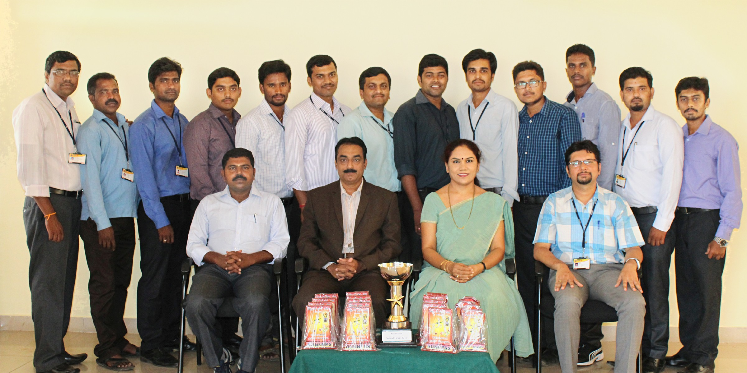 PES Staff team secures Runners up trophy