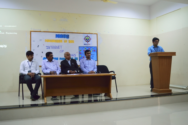 Two Days Hands-on Workshop on Internet Of Things (IOT)