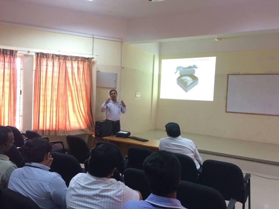 Talk by Dr. G K Patra, Principal Scientist, CSIR