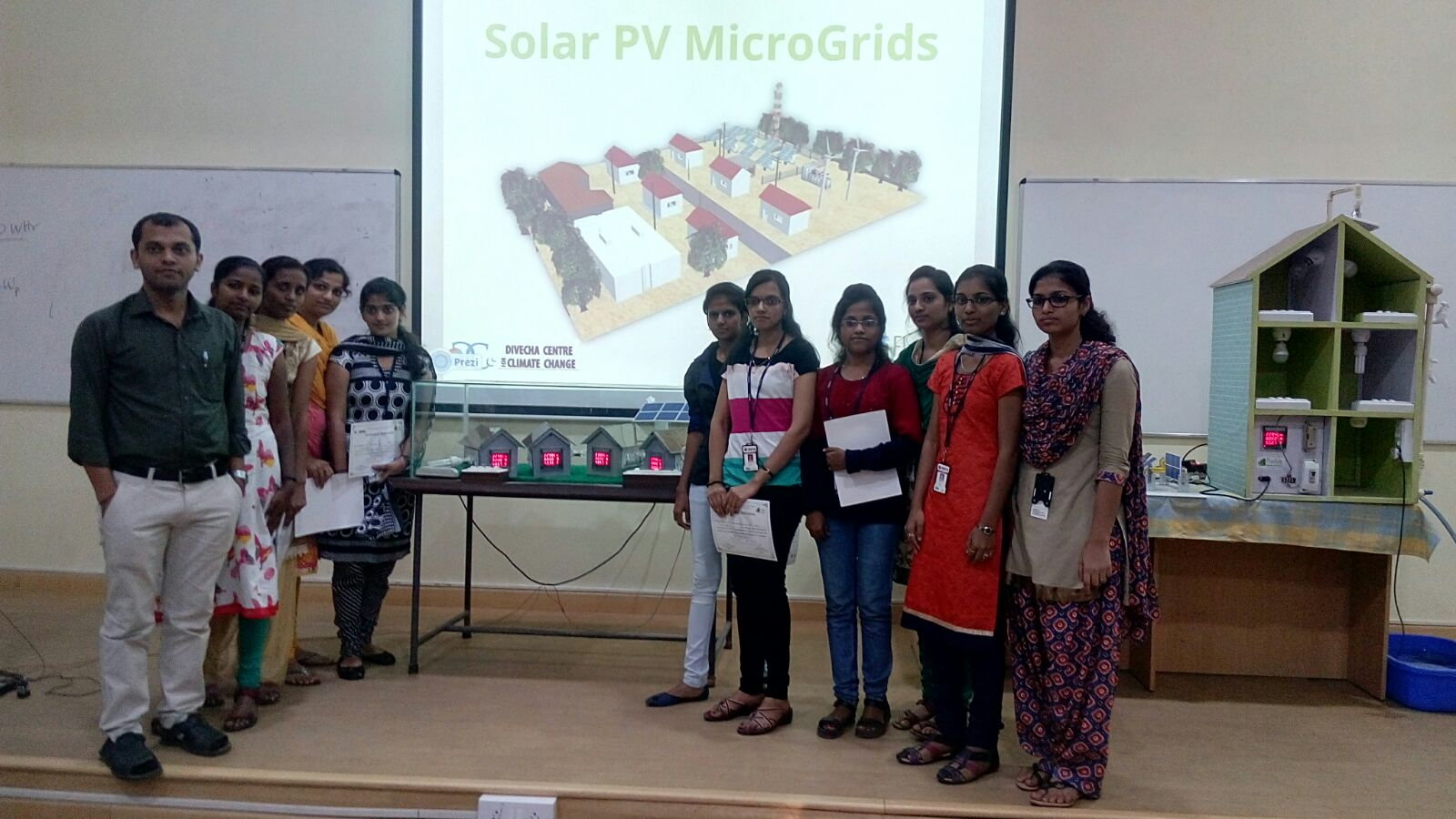 EEE students attended Workshop on Solar Photovoltaics and Micro-Grid
