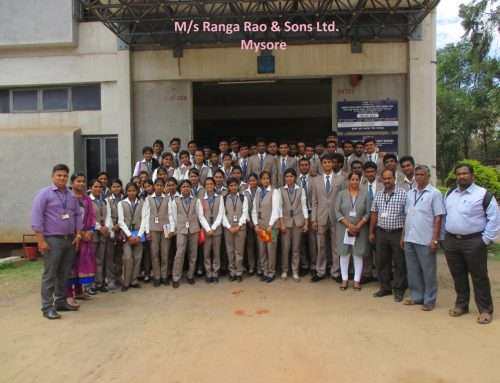 Industrial Trip to PAMS Engineering Ltd and Cycle Pure Agarbattis