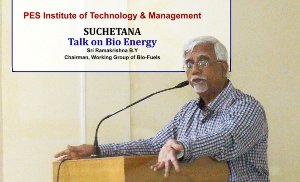 Talk by Bio Energy Chairman Working Group, Ministry of Petroleum