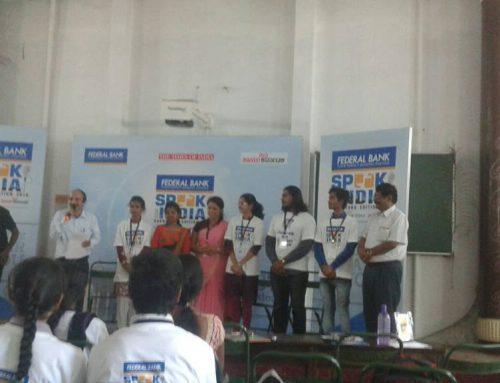 Speak for India Regional Round Winners