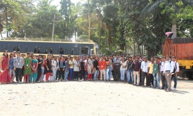 Industrial Visit by EEE students