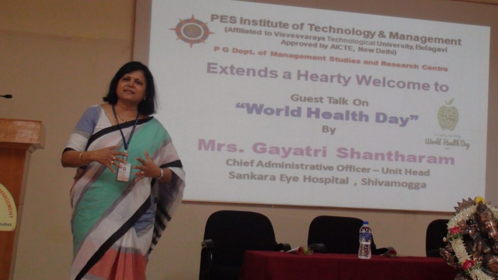 Guest Talk at MBA