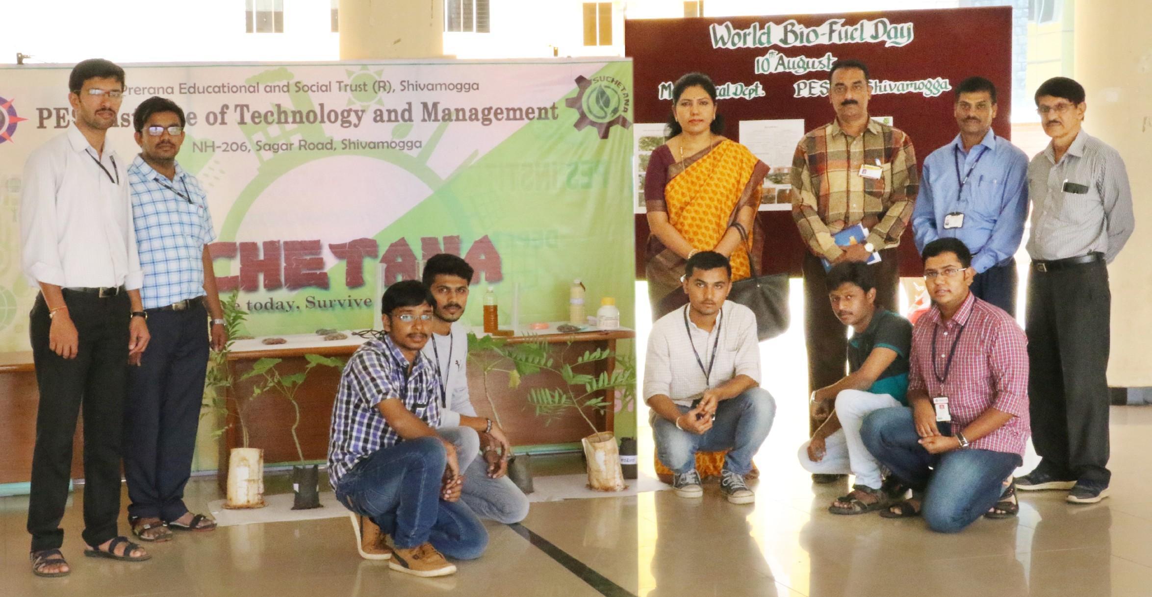 Talk and demonstration on Bio-fuel Renewable energy