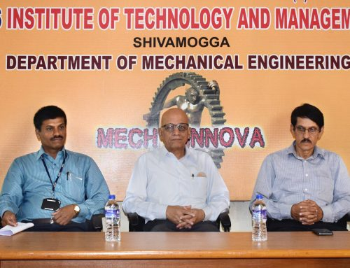 Technical Talk  by IIT Prof. S.L. Bapat
