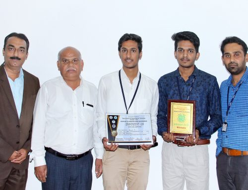 First Prize in  State Level Intercollegiate Paper Presentation Competition held at BIET,Davanagere
