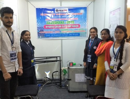 "Hybrid Solar Electric Drier"" Project at ANVESHANA 2019"