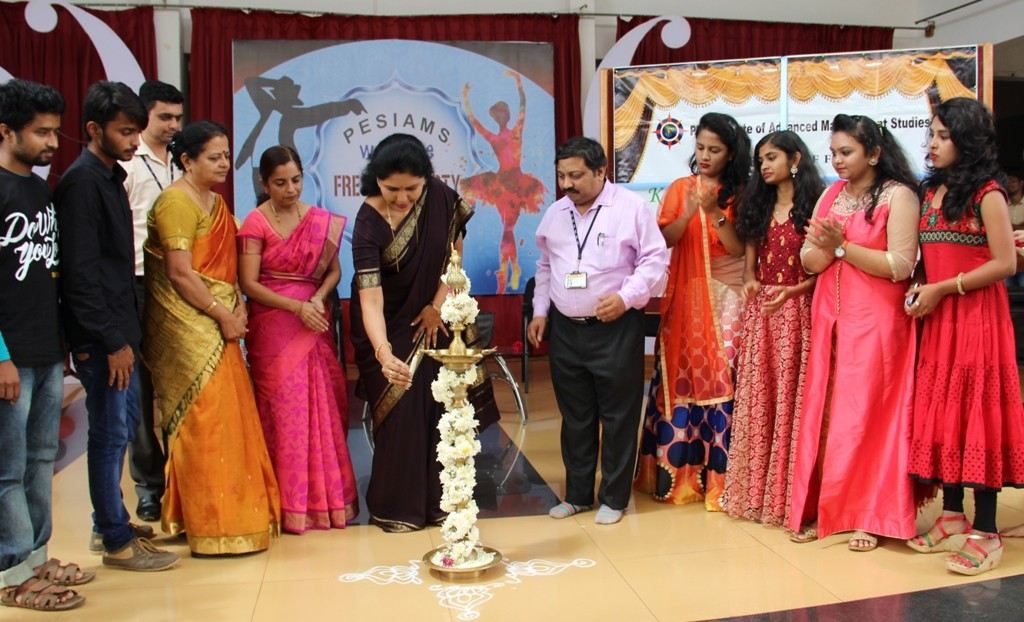 Inauguration of College Forums and Fresher's Day