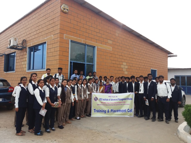 Industrial Visit by Training and Placement Cell