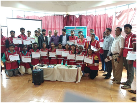 YRC State Level Workshop at Manglore.