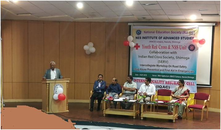 Intercollegiate Workshop on Road Safety, Drug Abuse Prevention and First Aid in Emergencies
