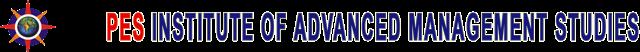 PES Institue of Advanced Management Studies Logo
