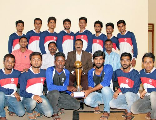 VTU Central Zone Football – Runners up