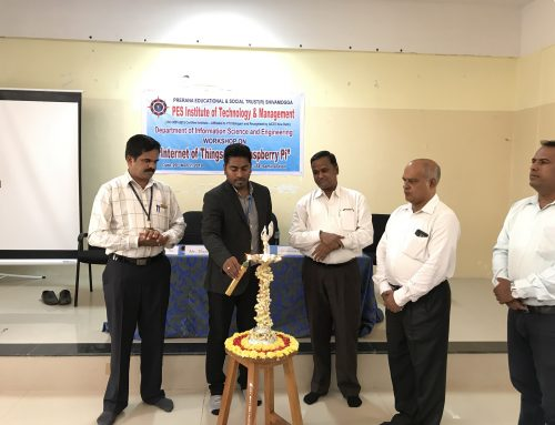 Workshop on IOT has been conducted on 29th March 2019 @ Department of ISE