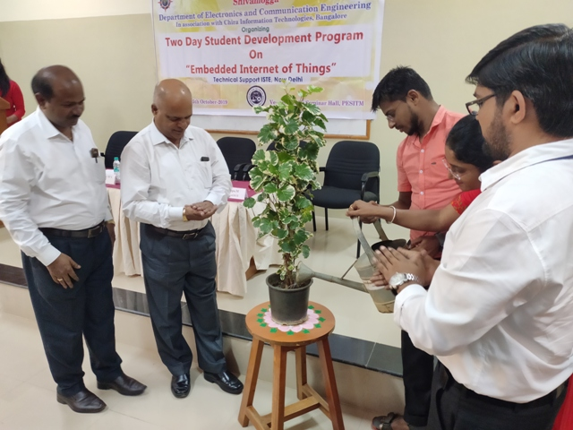 Two days workshop on Embedded IOT